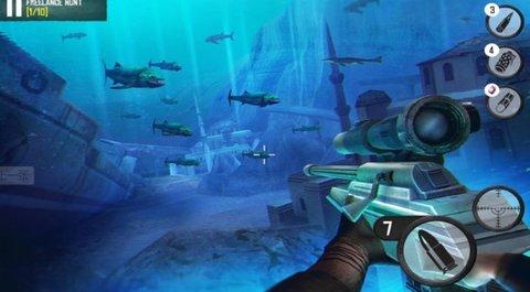 黄金狙击手深海狩猎中文版 1.0.0 安卓版