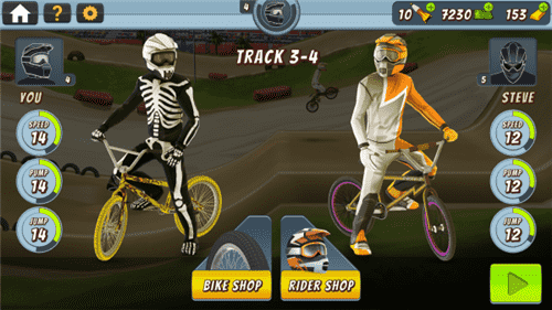 疯狂越野自行车2手游
