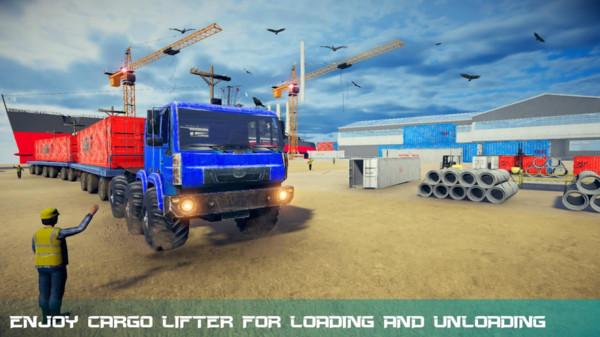 重量型卡车驾驶模拟器