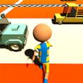 公路冲刺趣味赛3D游戏