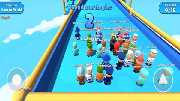 玩具人方块淘汰赛游戏