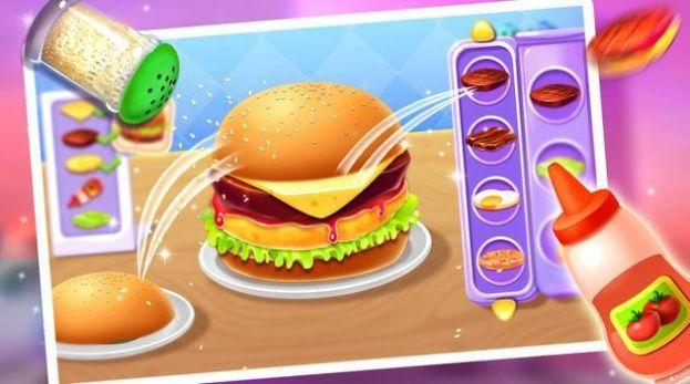 美味的厨房汉堡游戏