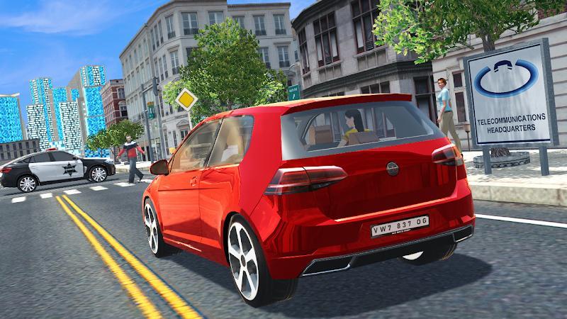 高尔夫汽车驾驶模拟游戏