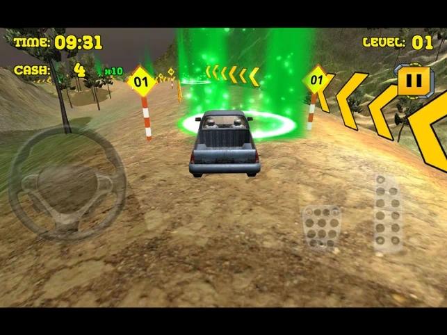 越野停车司机游戏
