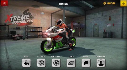 极限摩托自行车游戏